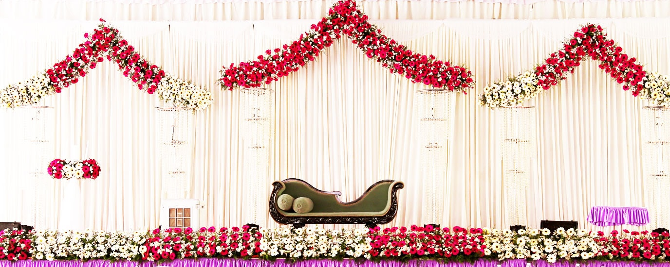 Wedding birthday and event catering service management company kerala weddind stage decoration junglespirit Choice Image