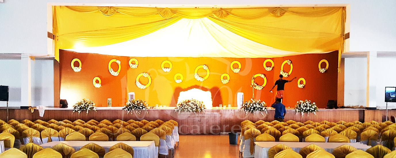 Wedding birthday and event catering service management company kerala weddind stage decoration junglespirit Image collections